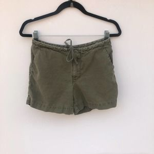 Timberland Forest Green Adjustable Tie Shorts